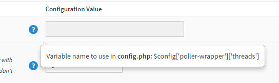 Config.php settings
